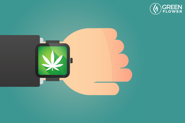 apple watch with weed