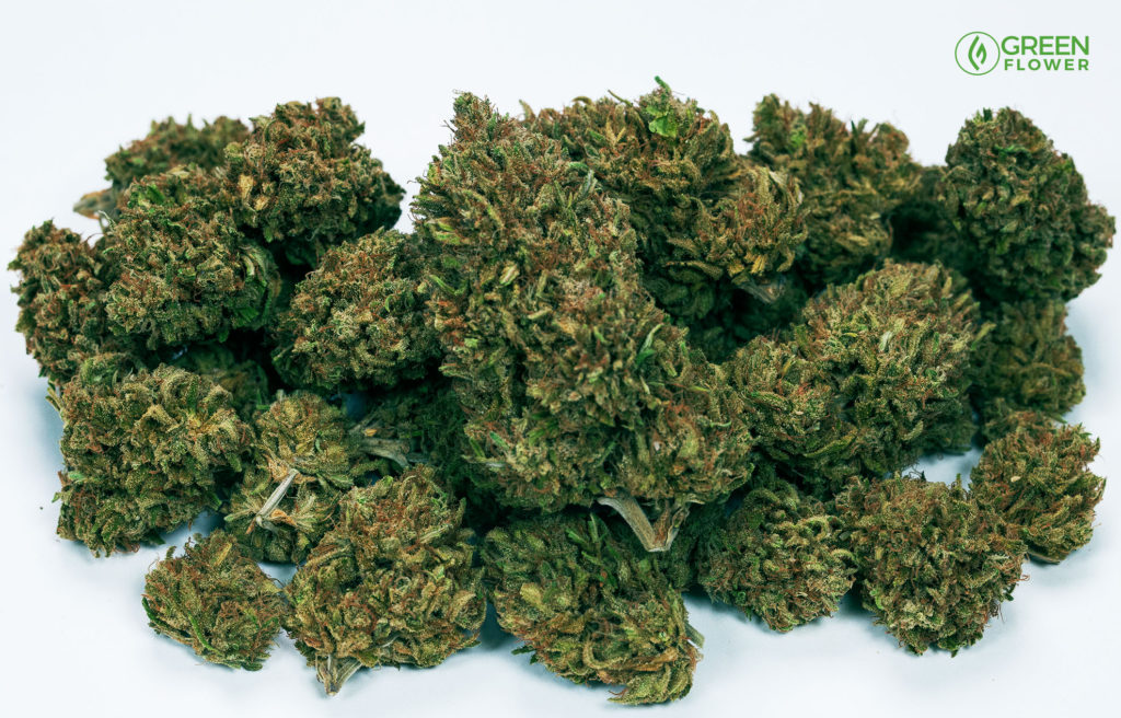 many grams of cannabis in a pile