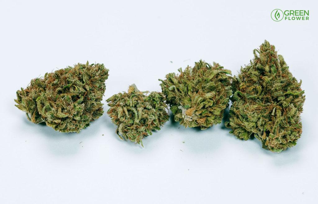 1/8th ounce of cannabis