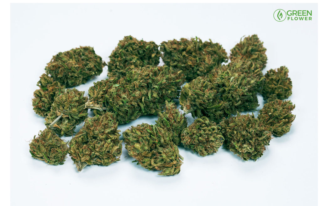 1 half-ounce of weed