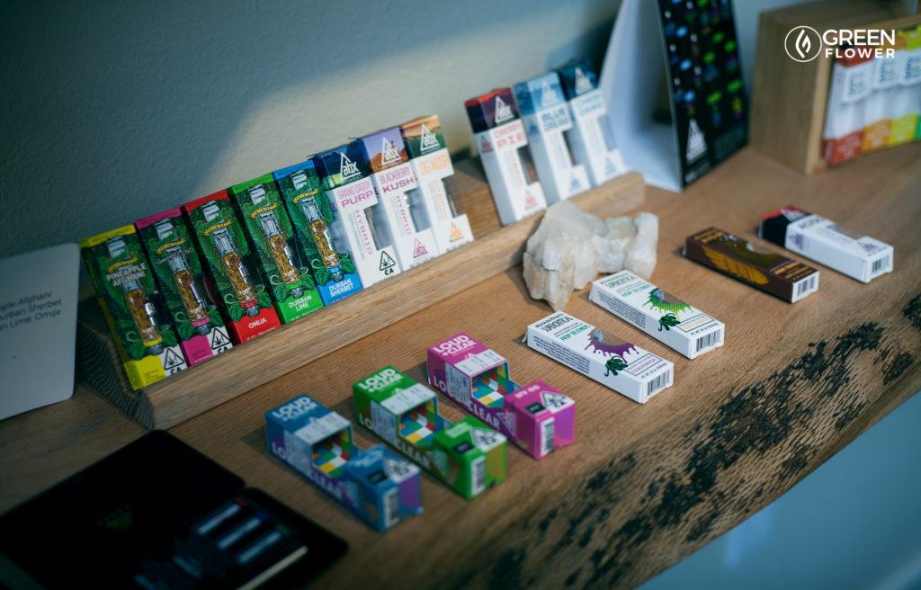 vape pens in the dispensary