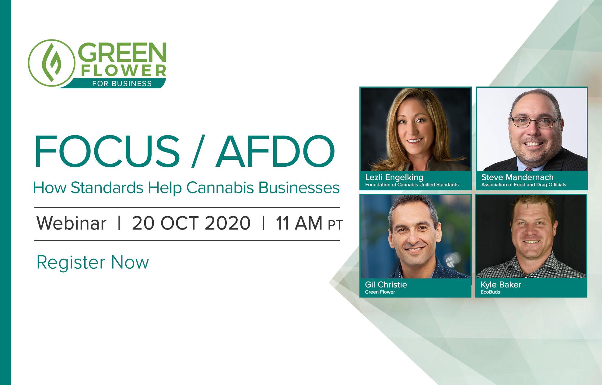 FOCUS and AFDO webinar banner