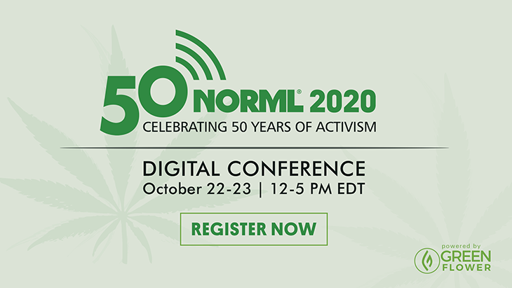 NORML 2020 conference ad